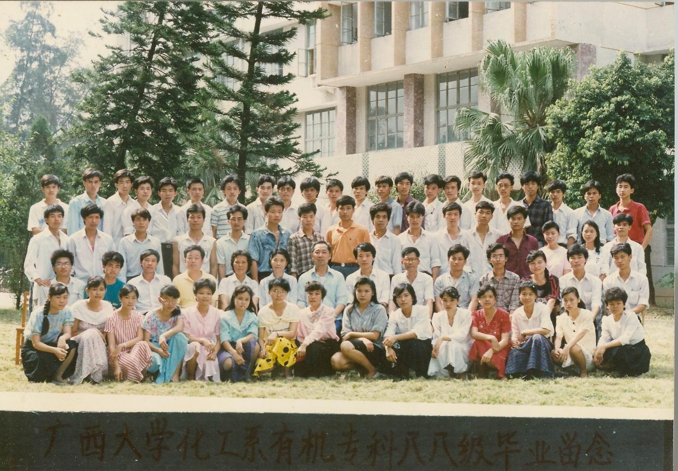 农学专业知识_1962-1995年广西大学毕业生合影-广西大学档案馆